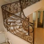 Кованая лестница 29