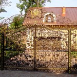 Кованые ворота 06