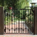 Кованые ворота 04