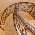Кованая лестница 28