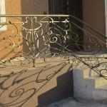 Кованый балкон 06