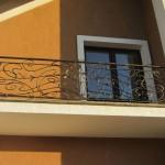 Кованый балкон 03