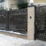Кованые ворота 16