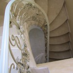Кованые лестницы 45