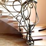 Кованая лестница 09