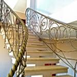 Кованая лестница 07