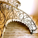 Кованая лестница 14
