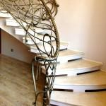 Кованая лестница 11