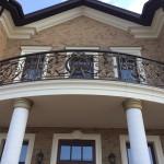 Кованый балкон 23