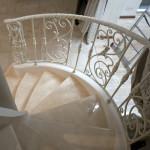 Кованые лестницы 55