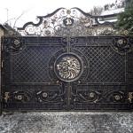 Кованая ворота 25