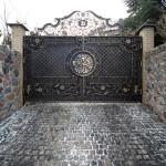 Кованая ворота 24